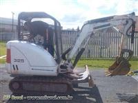 Escavadeira Bobcat Modelo 325