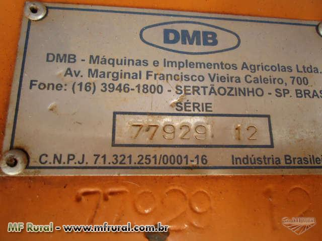 Cobridor de cana DMB com aplicador de fungicida 2012
