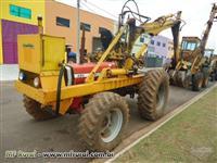 Trator Carregadeiras MASSEY FERGUSON 290 CARREGADEIRA HIBREMA  4x4 ano 03