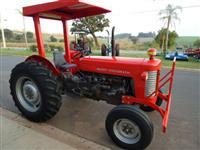 Trator Massey Ferguson 65X REVISADO, PINTURA E ELETRICA NOVA, MOTOR ZERO NA GARANTIA 4x2 ano 74