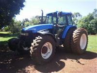 Trator Ford/New Holland TM 150 4x4 ano 01