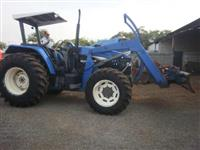 Trator Ford/New Holland TM 120 4x4 ano 02