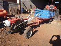 Trator Yanmar TC 14  4x4 ano 79