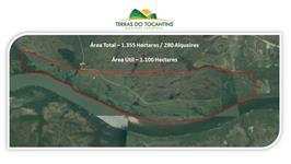 10 Km de Rio Tocantins - Próxima a Palmas - TO