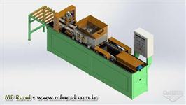 Máquina de fabricar telha