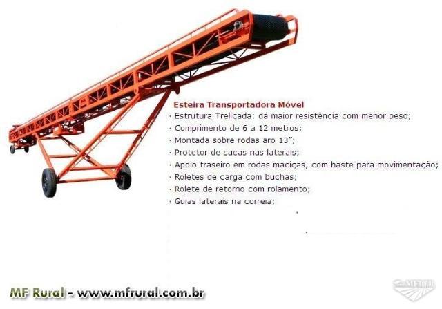 Esteira transportadora direto da fabrica