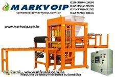 Maquina de fabricar blocos de concreto