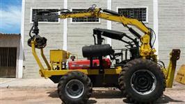 Trator Carregadeiras MF 292 4x4 ano 91