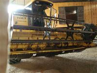 PLATAFORMA DE CORTE, TC 57 15 PÉS, SUPER FLEX, MARCA NEW HOLLAND, ANO 2000