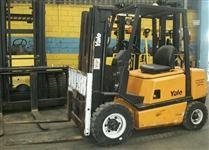 EMPILHADEIRA YALE MOD GP 25 RE 2,5 TONS