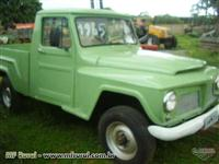 Pick-up Ford Willys  modelo F 75 ano 1965