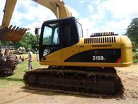 Escavadeira Hidraulica Caterpillar 315 DL Ano 2008