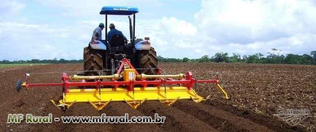 ENXADA ROTATIVA E ENCANTEIRADORA DE 1,5M ATÉ 5M DE LARGURA