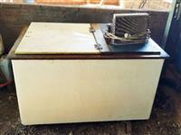 Resfriador de Leite Refrigerado para 05 Tambores de 50 Lts. cada