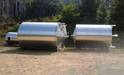 Tanques Inox 304 Verticais, 5,10,15,25000 litros novos,com pés e fundo cônico