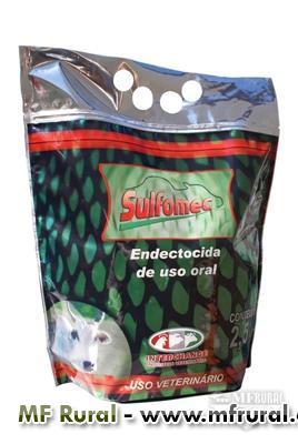 SULFOMEC - FÓRMULA ÚNICA NO MERCADO - IVERMECTINA + ALBENDAZOL 38,50%