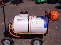 Pulverizador 200 litros Elétrico Motobomba 1Hp monofásico