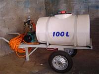 Tanque Horizontal Polietileno,Carreta,Reboque,Agrícola,Óleo Diesel,Combustível