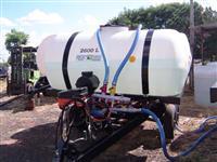 Carreta Agrícola Calda Pronta 2 Tanques de 2600 lts Capacidade 5200 lts Aro 16