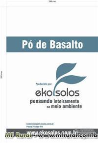 PÓ DE BASALTO AGRICOLA EKOSOLOS