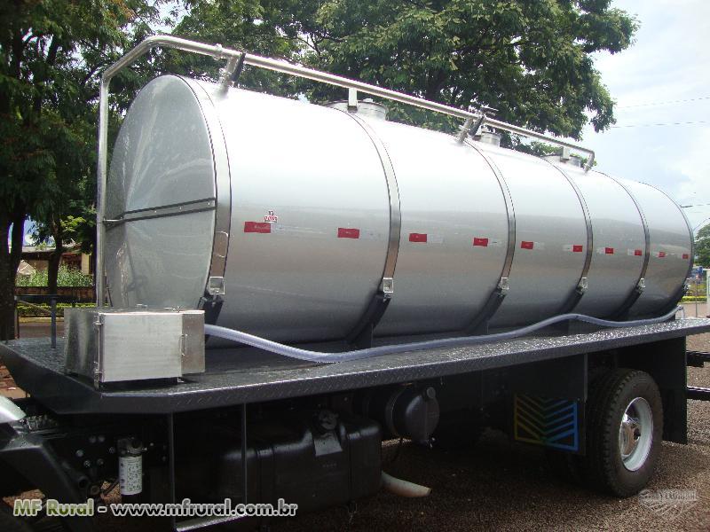 Tanque de Leite Isotérmico Rodoviário