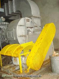 Caldeira Bremer, lenha, 6.500 Kg vapor hora, 10 Kg pressão de trabalho