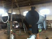 Caldeira Flamotubular 1.000kg/vh