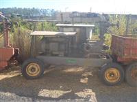 Conjunto de irrigação com moto bomba, canhao, enrolador de mangueira e 18 barras