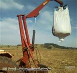 Guincho big bag 1500 kg Santa Isabel, roda loca
