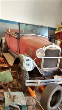 Ford 1929 a restaurar - RARIDADE