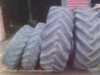 Capa protetora de pneu para trator rodagem 30 traçado, usado