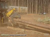 MINI SKIDDER VENDO IMPLEMENTO COMPLETO NOVO