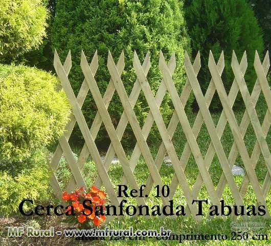 cerca jardim cachorro : cerca jardim cachorro:Cerca para Jardinagem de Madeira Tratada com 10 anos de garantia (Cód