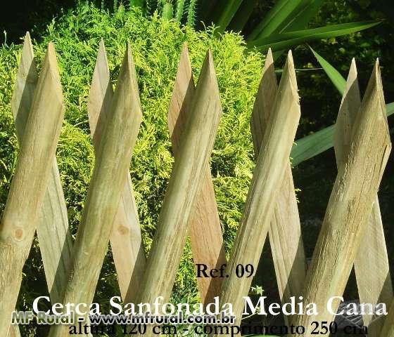 cerca de eucalipto tratado para jardim : cerca de eucalipto tratado para jardim:Cerca para Jardinagem de Madeira Tratada com 10 anos de garantia (Cód