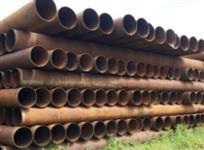 "Tubos de Ferro Fundido 100 a 1000mm, Helicoidal 16/20/24"", tubo de 18"" revestido"