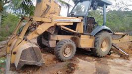 Retro escavadeira 580L ano:2008 4X4