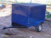 Carreta para Transporte de Animais/Materiais