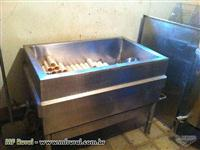 Tanque de Queijo em inox 200L a gas