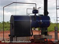 Caldeira Água Flama-Tubular Mista-e/ou Vertical 1.000 kg/h