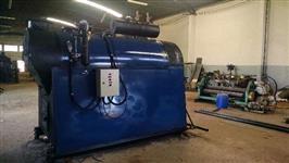 Caldeira RAMPELOTTO com capacidade de 2.500 kg/h e pressão de trabalho de 8,5 kgf/cm2