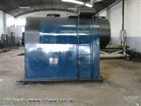 Caldeira RAMPELOTTO com capacidade de 3.000 kg/h e pressão de trabalho de 8,5 kgf/cm2