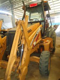 RETROESCAVADEIRA CASE 580L 4X2 ANO 2005 EMPLACADA, MAQUINA ÚNICO DONO