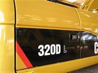 ESCAVADEIRA CATERPILLAR 320 DL ANO 2011,MUITO NOVA MAQUINA DE CERÂMICA ÚNIC DONO