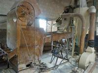 Equipamentos para fabricação de quirelas, ração farelada e ensacamento de milho