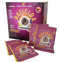 Raticida em Grão de Cereais Citromax- 1 kg (40 saches de 25g)