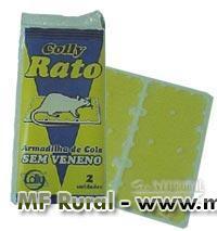 Ratoeira Adesiva - Pega Ratos e Camundongos (Caixa com 12 embalagens)