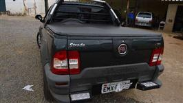 Fiat Strada locker 10/10 Cabine Estendida Cinza air bag + freio ABS