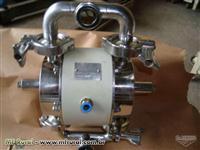 Bomba de Diafragma Sanitária INOX