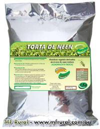 TORTA DE NEEM COM LINHAÇA