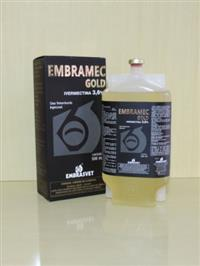 EMBRAMEC GOL IVERMECTINA 3,6% SEM CARRAPATOS VERMES E BERNES - CAIXA C/ 06 FRS